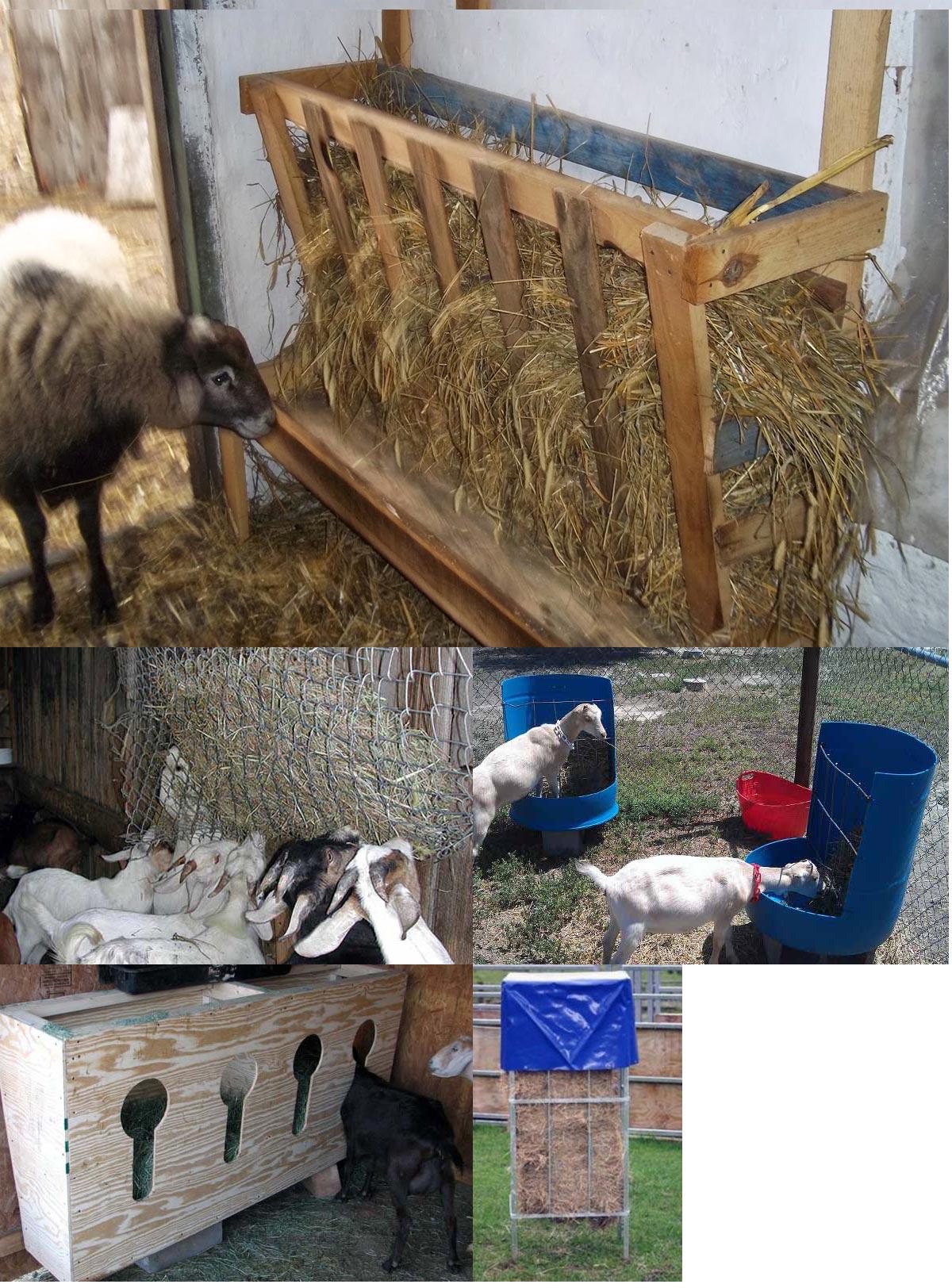 Как сделать стойку для овец